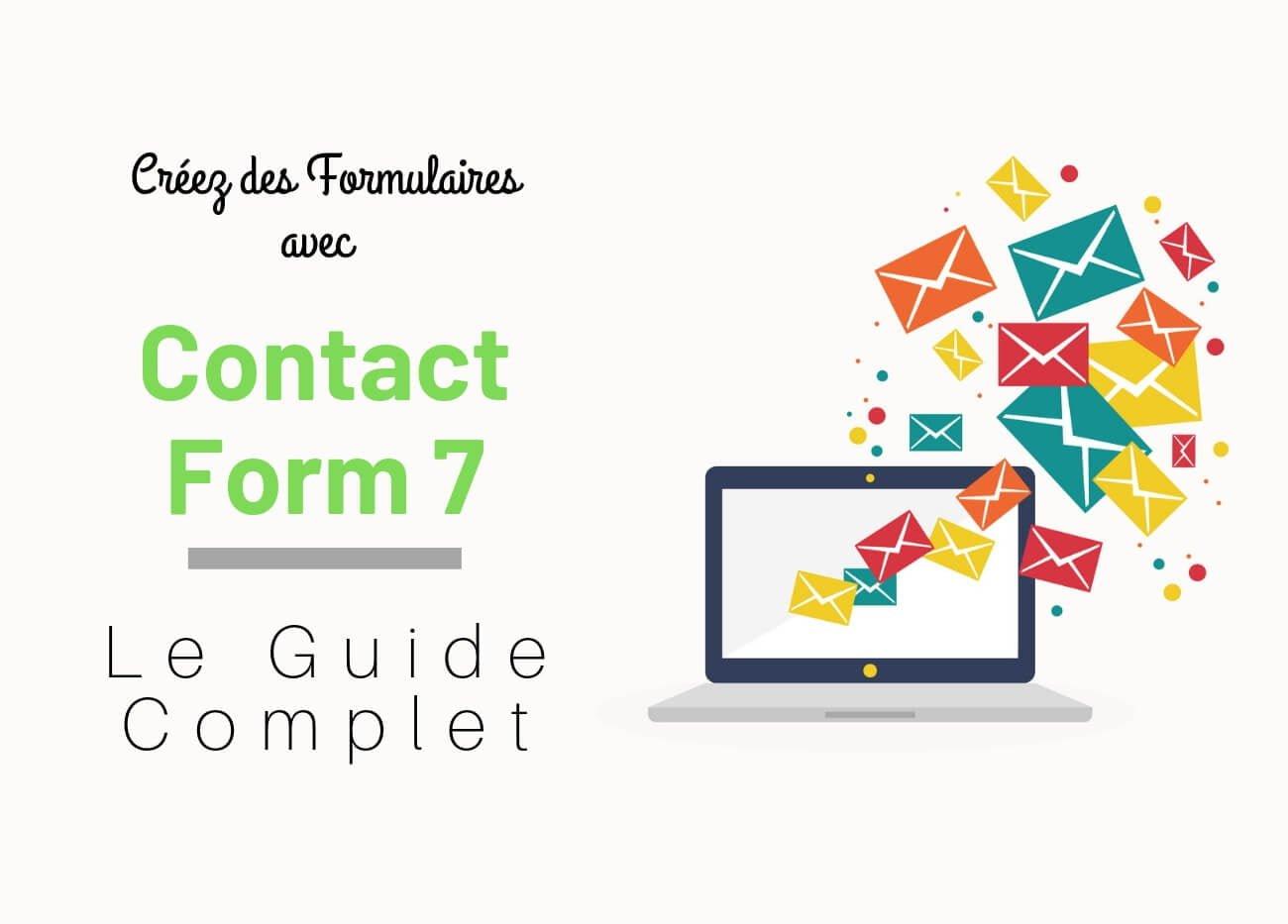 créer des formulaires avec contact form 7