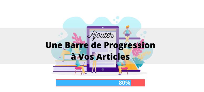 créer une barre de progression wordpress