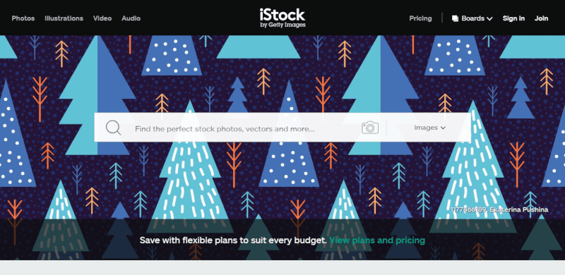 iStock achat d'images pas cheres