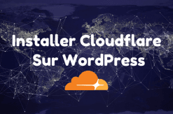Installer cloudflare sur wordpress